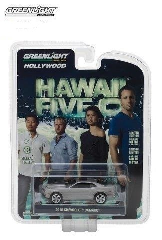 44770F 14+ GREENLIGHT GREENLIGHT 1/64 CHEVROLET Camaro 2010 (т/с Гавайи 5.0)