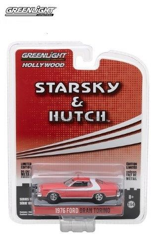 44780A 14+ GREENLIGHT GREENLIGHT 1/64 FORD Gran Torino 1976 (т/'c Старски и Хатч)