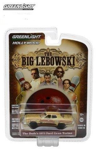 44780D 14+ GREENLIGHT GREENLIGHT 1/64 FORD Gran Torino 1973 машина Лебовски (из к/ф