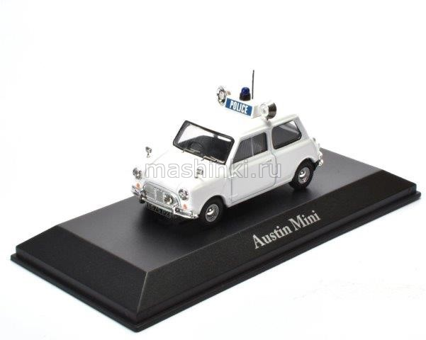 4650115 14+ ATLAS ATLAS 1/43 AUSTIN Mini Royal Ulster Constabulary 1961 white