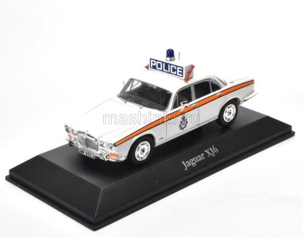 4650118 14+ ATLAS ATLAS 1/43 JAGUAR XJ6 West Yorkshire Police 1971 white
