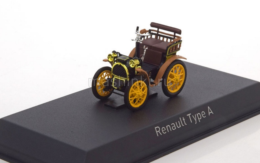 519512 14+ NOREV NOREV 1/43 RENAULT Type A 1899 red