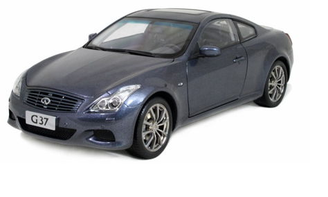 5502BL PAUDI MODEL INFINITI G37 Coupe blue