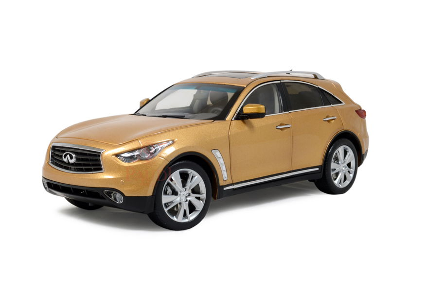 5506GL PAUDI MODEL Infiniti QX70 (gold) 2014