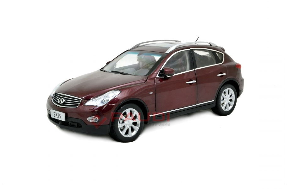 5507R PAUDI MODEL Infiniti EX25 2013 red