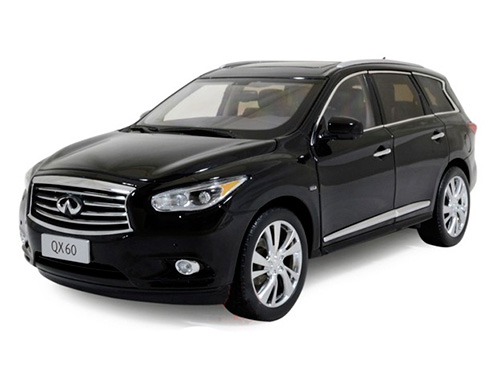 5508BK PAUDI MODEL Infiniti QX60 2014 Black