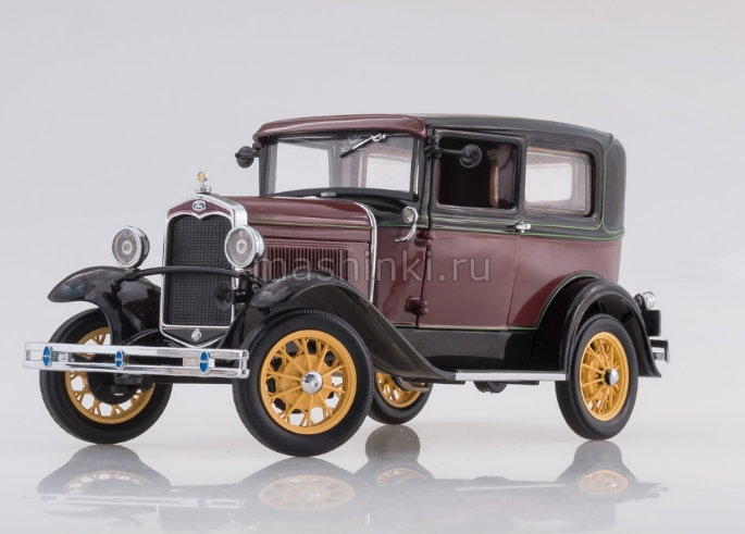 6102 14+ SUNSTAR SUNSTAR 1/18 FORD Model A Tudor 1931 red