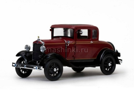 6131 14+ SUNSTAR SUNSTAR 1/18 FORD Model A coupe 1931 red