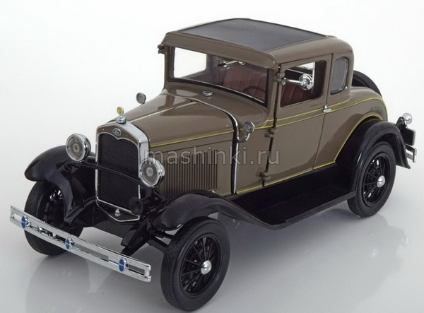 6132 14+ SUNSTAR SUNSTAR 1/18 FORD Model A coupe 1931 chicle drab