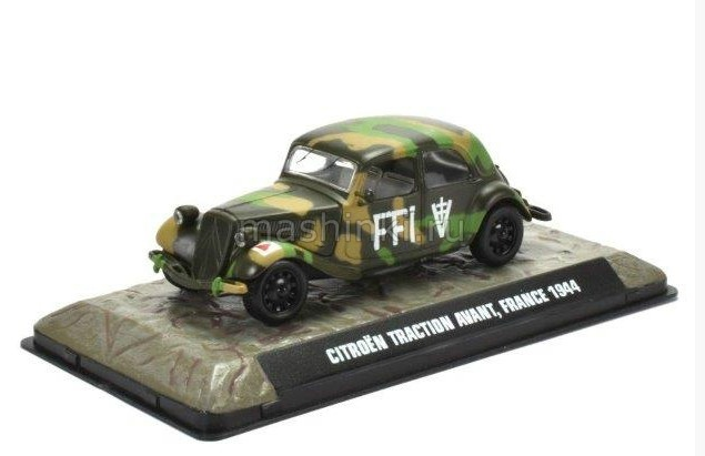 7123113 14+ ATLAS ATLAS 1/43 CITROEN Traction Avant Франция 1944
