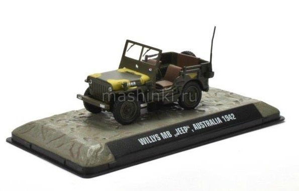 7123128 14+ ALTAYA ALTAYA 1/43 JEEP Willys MB Австралия 1942