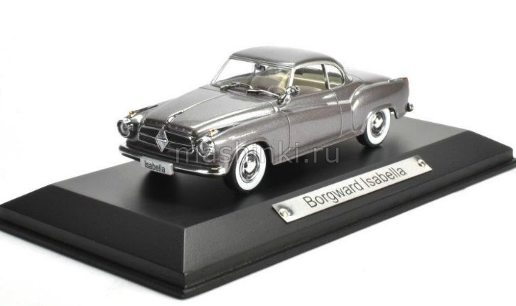 7129105 14+ ATLAS ATLAS 1/43 BORGWARD Isabella 1957 metallic grey