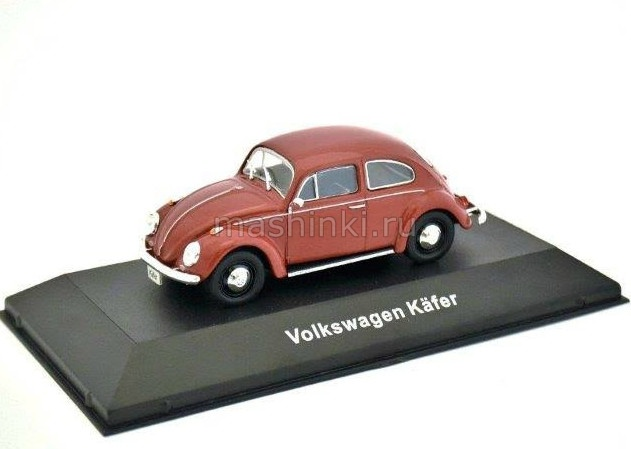 7507001 14+ ATLAS ATLAS 1/43 VW Kafer 1958 red