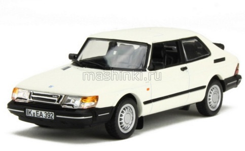 810032 14+ NOREV NOREV 1/43 SAAB 900 Coupе Turbo 16S 1991 white
