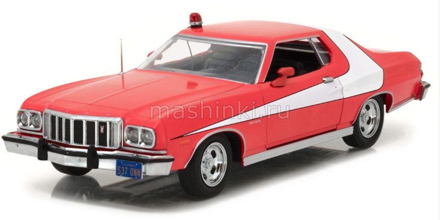 84042 14+ GREENLIGHT GREENLIGHT 1/24 FORD Gran Torino 1976 (т/с Старски и Хатч)