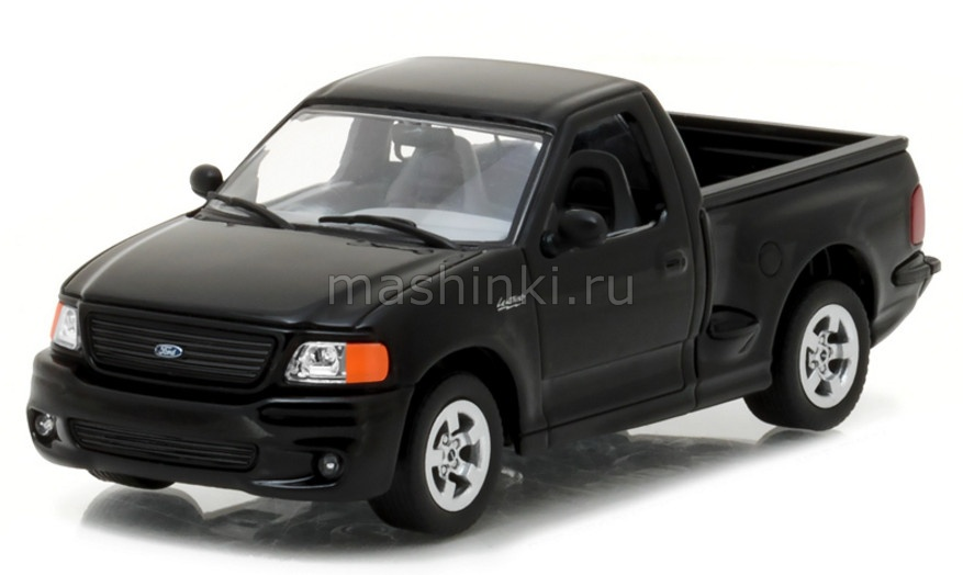 86085 14+ GREENLIGHT GREENLIGHT 1/43 FORD F-150 SVT Lightning 1999 black