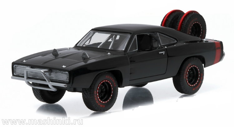 86232 GREENLIGHT GREENLIGHT 1/43 DODGE Charger R/T 4x4 Off-Road Version (к/ф Форсаж VII) 1970
