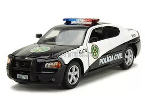 86237 14+ GREENLIGHT GREENLIGHT 1/43 DODGE Charger Police Rio Policia Civil 2006 Fast & Furious:Fast Five из к/ф Форсаж V