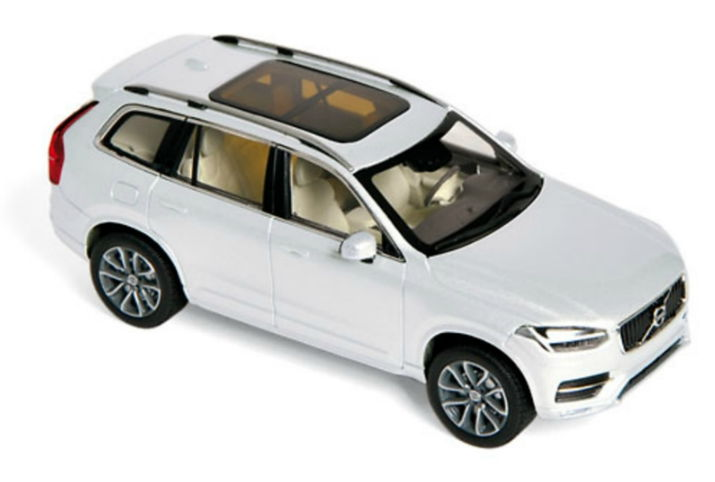 870050 NOREV NOREV 1/43 VOLVO XC 90 кроссовер 4х4 2015 crystal white metallic