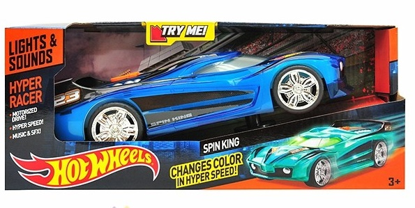 90530TS 03+ HOT WHEELS HOT WHEELS Машина-супергонщик на бат. (свет+звук) в асс.