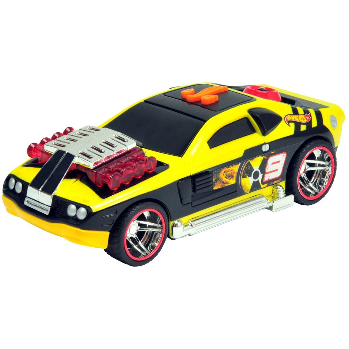 90600TS 03+ HOT WHEELS HOT WHEELS Машина 14 см (свет+звук) в асс.
