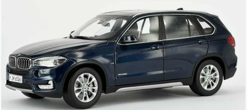 97071 PARAGON MODELS PARAGON 1/18 BMW X5 (F15) 2014 metallic blue