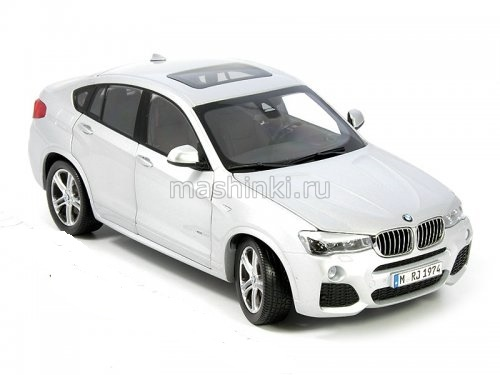 97093 14+ PARAGON MODELS PARAGON 1/18 BMW X4 (F26) 2014 metallic white