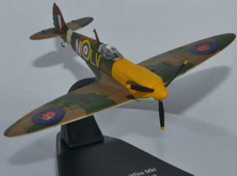 AC066 MASHINKI.RU/САМОЛЕТЫ/OXFORD (1/72 самолеты) OXFORD 1/72 Supermarine Spitfire Mk.I  57 OUT RAF Hawarden March 1942