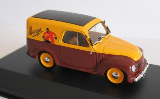 AF068 ALTAYA ALTAYA 1/43 FIAT 500 C Furgoncino MARGA 1950 yellow-brown