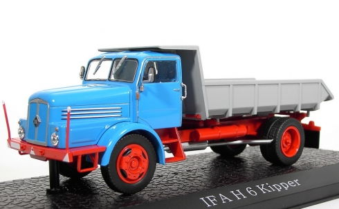 AT002 ATLAS IFA H6 KIPPER (самосвал) 1954 Blue/Grey