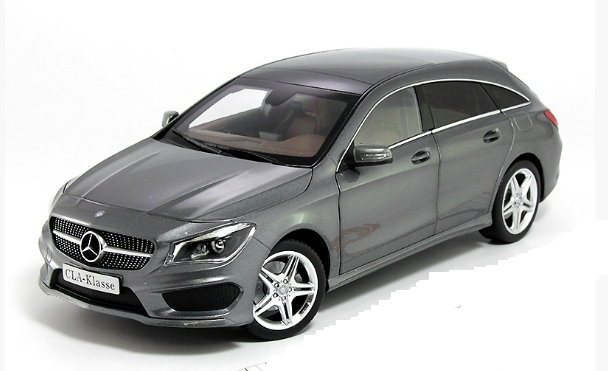 B66960351 NOREV NOREV 1/18 MERCEDES-BENZ CLA Shooting Break 2015 metallic grey