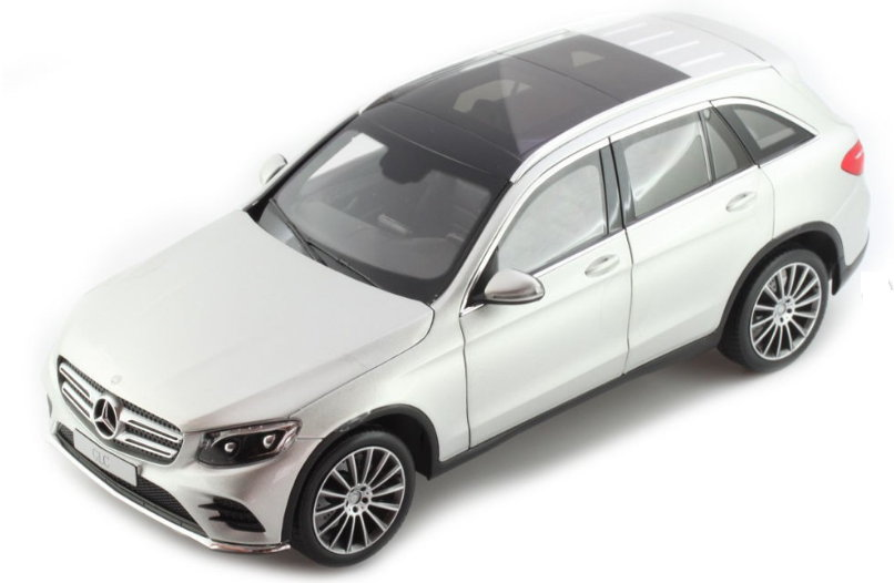 B66960362 NOREV NOREV 1/18 MERCEDES-BENZ GLC (X253) 2015 metallic white