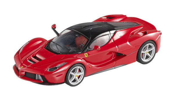 BCT83 MATTEL HOT WHEELS Ferrari LaFerrari (red with black roof) 2013