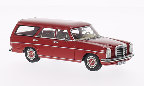BOS43500 BOS-MODELS Mercedes-Benz 220 (W115) Binz Kombi - red