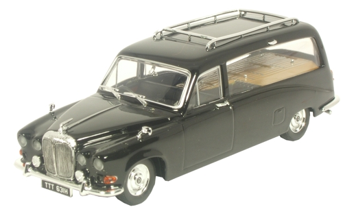 ds002 OXFORD Daimler DS420 Hearse Black