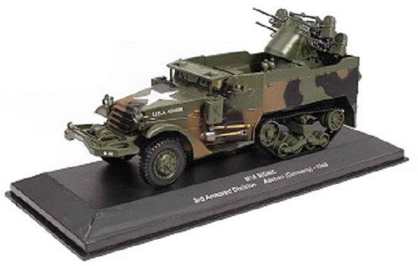 EX02 IXO-MILITARY Sonstiges M16 MGMC 3rd Armored Division Aachen (Germany) 1944 US Armee 1944