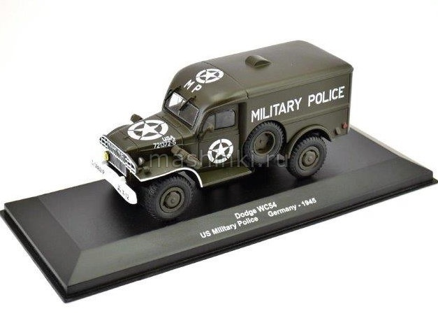 EX67 14+ ALTAYA ALTAYA 1/43 DODGE WC54 US Military Police Германия 1945