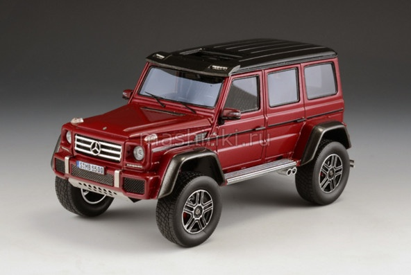 GLM205705 14+ GLM GLM 1/43 MERCEDES-BENZ G550 4x4 (W463) 2015 red