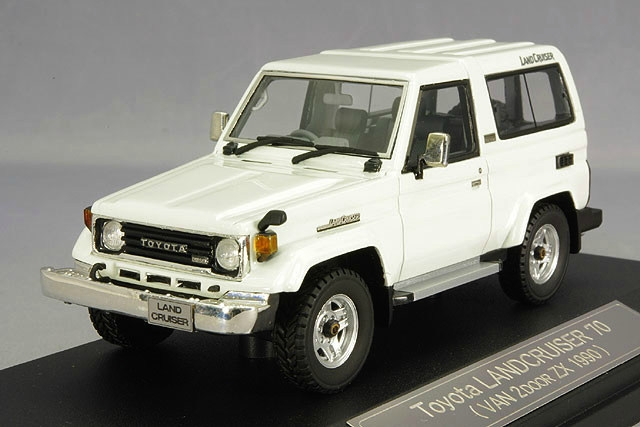 HS068WH HI-STORY TOYOTA Land Cruiser 70 ZX 1990 white