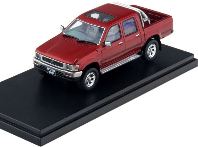 HS092RE HI-STORY TOYOTA Hilux 4WD Pick Up SSR-X 1992 Red
