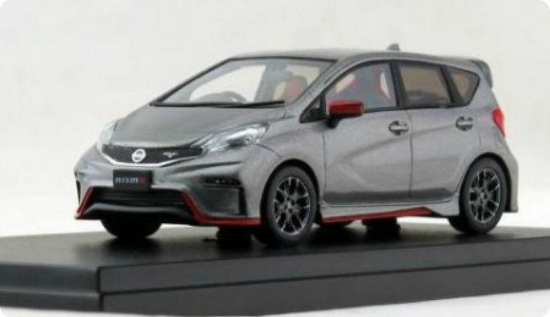 HS112GY HI-STORY HI-STORY 1/43 NISSAN Note Nismo S Version 2015 grey metallic