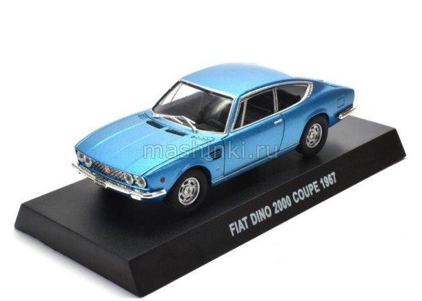 IT003 14+ ALTAYA ALTAYA 1/43 FIAT Dino 2000 Coupe 1967 light blue