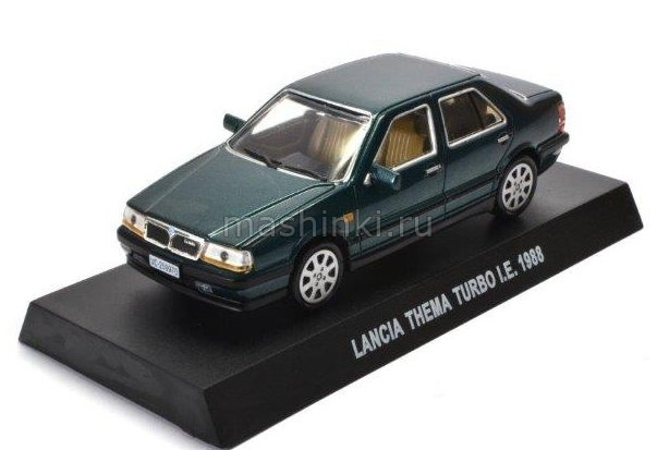 IT004 14+ ALTAYA ALTAYA 1/43 LANCIA Thema Turbo I.E. 1988 metallic green
