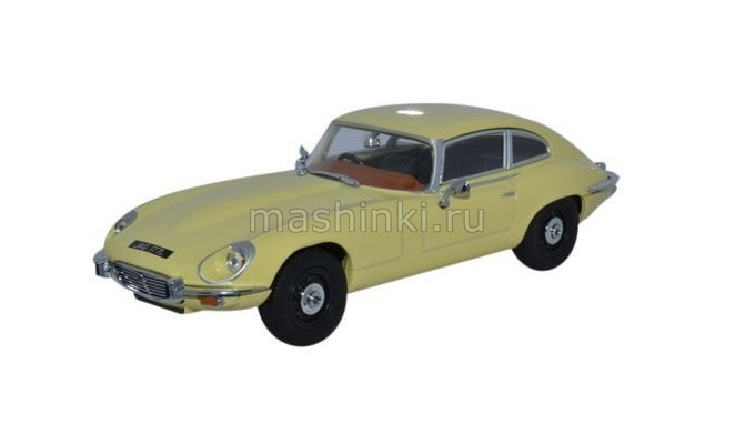 JAGV12002 14+ OXFORD OXFORD 1/43 JAGUAR E-type V12 Coupe 1972 primrose yellow