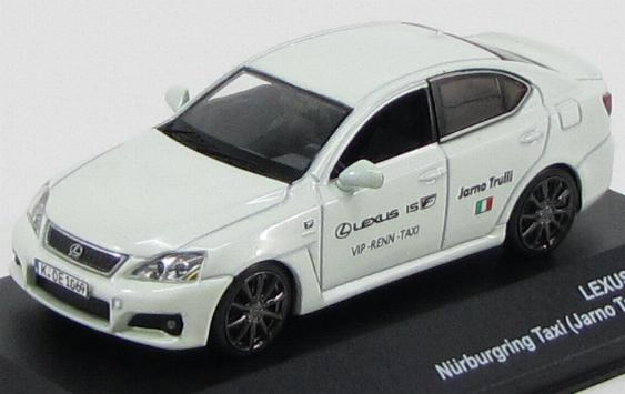 JC101 J-COLLECTION LEXUS IS-F Nurburing Taxi Jarno Trulli Version