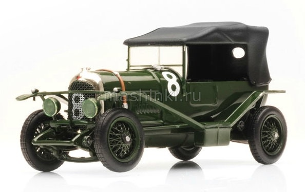LM1924 14+ IXO IXO 1/43 BENTLEY 3 Litre №8 J.Duff/F.Clement Winner Le Mans 1924