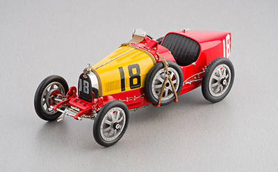 M-100-B-016 CMC Bugatti T35 - Spain GP Nation Colour Project