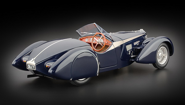 M-136 CMC Bugatti 57 SC Corsica Roadster, Award Winning Version 1938
