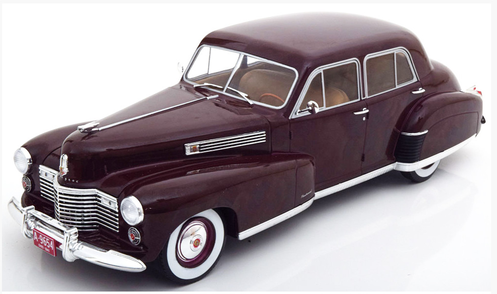 MCG18071 14+ MODEL CAR GROUP (MCG) MCG 1/18 CADILLAC Fleetwood 60 Special Sedan 1941 dark red