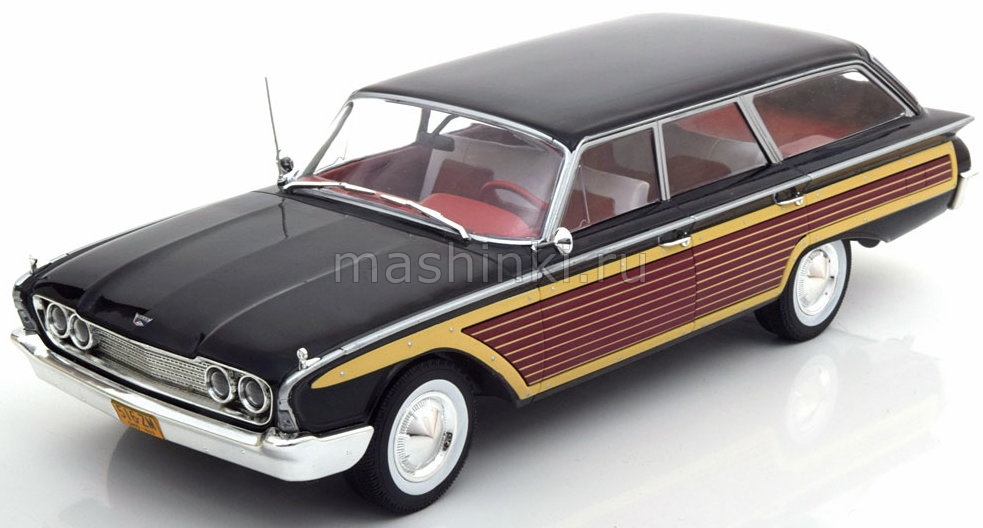 MCG18073 14+ MODEL CAR GROUP (MCG) MCG 1/18 FORD Country Squire 1960 black/wood